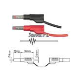 ПрофКиП PTL908-1 измерительные провода 4 мм Male-Male