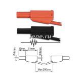 ПрофКиП PTL908-2 измерительные провода 4 мм с двойной изоляцией