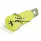 641-yellow Гнездо (розетка)